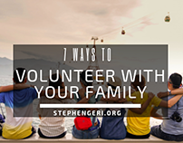 7 Ways to Volunteer with Your Family