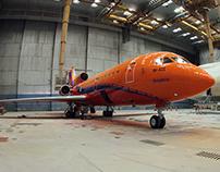 Ливрея самолёта ЯК-42Д