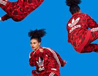 Ilka & Franz for Adidas X Bape