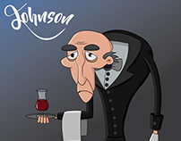 Character designs made for a short animated film