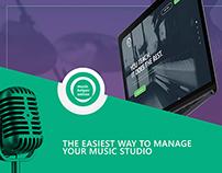 Music Helper Online Web Design