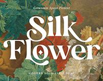 FREE | Silk Flower Modern Bold Serif