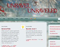 Unravel Unreaveled - Web header
