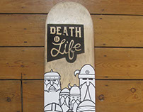 Death is Life - Skatedeck