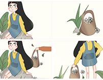 Daisy | Illustration