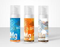 SOZO Naturals Magnesium Oil Packaging