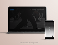 MGM Accountancy Firm Website