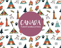 Canada Seamless Free Pattern