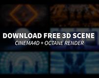 • FREE 3D THEME - ALIEN TECH •