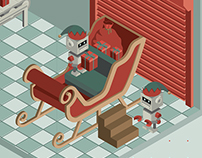 Isometric Illustration - Christmas 2015