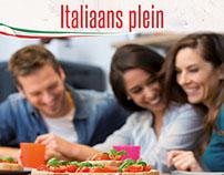 Poster Italiaans plein