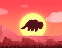 Avatar // Appa & Sunset + Aang