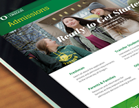 University of Oregon: Admissions Website