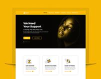 Website Design(UI/UX) | NGO(PJF)