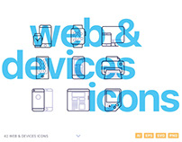 Web & Devices Icons by Petr Knoll