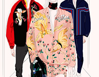Louis Vuitton Men's RTW Spring 2016