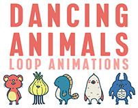 DANCING ANIMALS LOOP ANIMATIONS