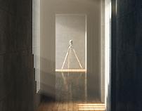 Koshino House. Tadao Ando. CGI.