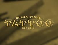 BLACK STONE TATTOO • handmade wood sign