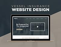 Website Design - Vessel Insurance Template