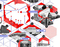 Map of new cultural venues in Poland - online map