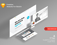 Freebies Website For Sketch