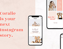 ANIMATED Instagram Stories – Coralie