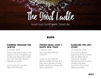 The Good Ladle UI Concept