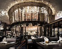 River Barge Restaurant By That's ith interior