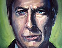 Portrait of Saul Goodman/Jimmy McGill