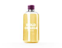 Bold drink packaging design concept