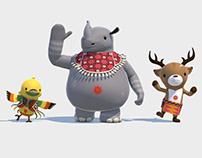 Asian Games 2018 Mascot