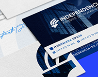 Independencia · BRANDING