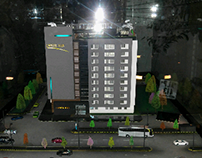 "SITE OFFICE Scale model: ""Capital Icon"""