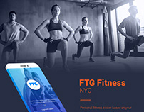 FTG Fitness App - For Trainee & Prsonal Trainer