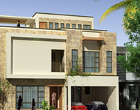 House Rendering for Suhail &Fawad Architects