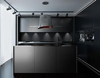 conceptual design of the kitchen - Elica