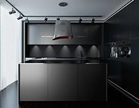 conceptual design of the kitchen - Elica