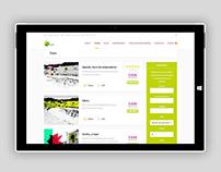Diseño web y tarjetas de visita para Feel Andalusia