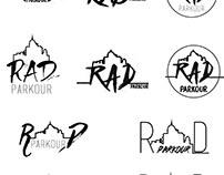 RAD Parkour Gym Logo