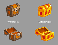 Boxes in the Farm Heroes Super Saga Style(fanart)