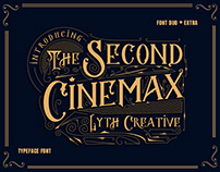 The Second Cinemax Font Typeface