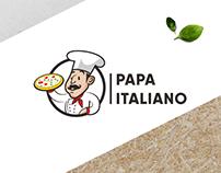 Papa Italiano | logo & brand identity