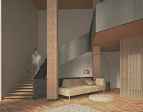 Origami House interior rework 2014