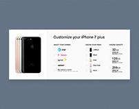 DailyUI #033 - Customize Product