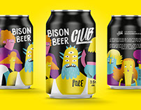 Bison Beer - Artwork