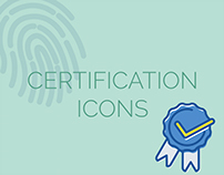 Certification icons