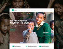 Nonprofit WordPress Theme Presentation Elements