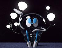 Lightbulb character