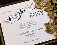 Couture Holiday Party Invitation